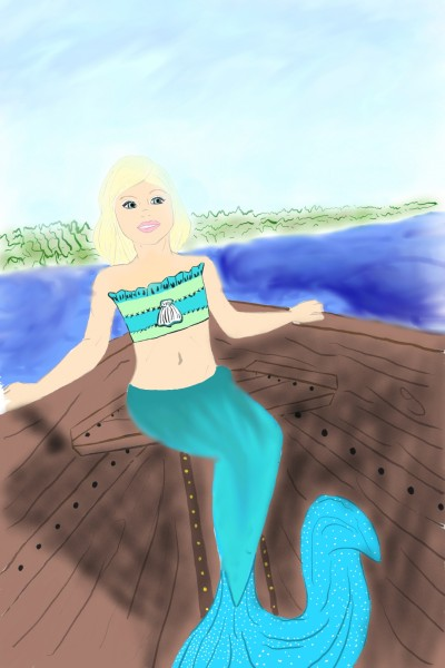 Sound Mermaid | pandapaws1012 | Digital Drawing | PENUP