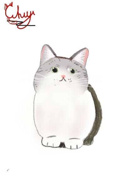 cat | Kato_Hikari | Digital Drawing | PENUP