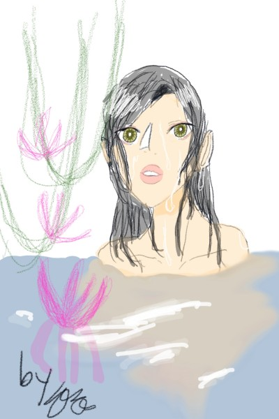 girl in river [강 안의 소녀] | magamnoye_suyen | Digital Drawing | PENUP
