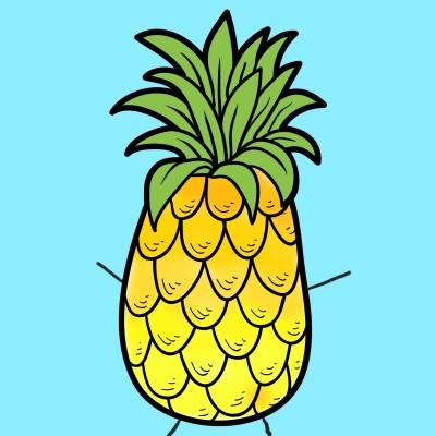 pineapple | Manuelasunia | Digital Drawing | PENUP