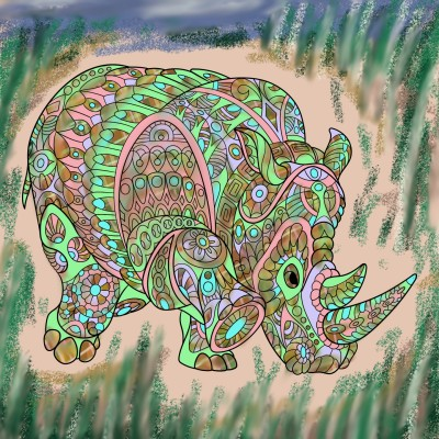 Coloring Digital Drawing | popdrops | PENUP