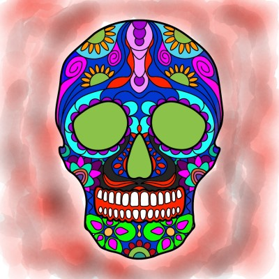otra calavera | Mia | Digital Drawing | PENUP