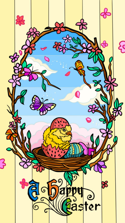 Easter Card 3 | jrellis007 | Digital Drawing | PENUP