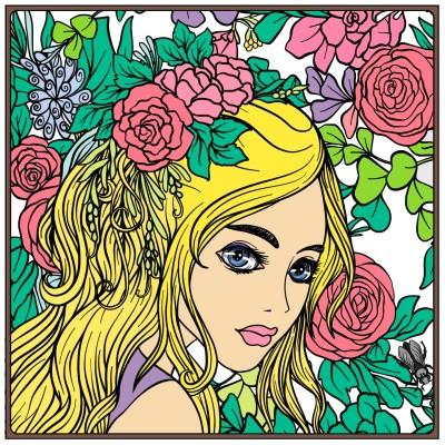 cô gái xinh đẹp | luongtulinh | Digital Drawing | PENUP