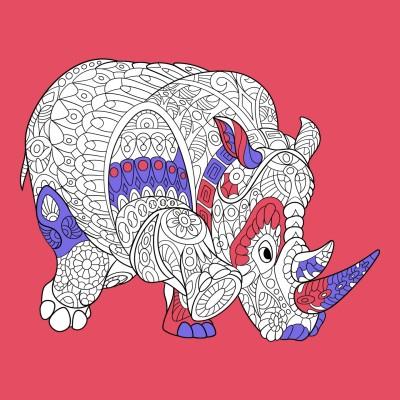 대왕코뿔소 | carrot | Digital Drawing | PENUP