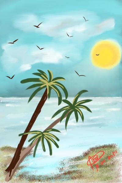Landscape Digital Drawing   Aisha   PENUP