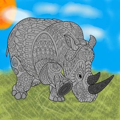jungle | aqil2009 | Digital Drawing | PENUP