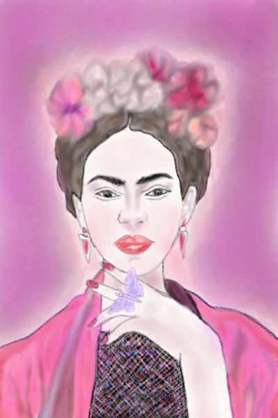 Frida Kalho | lena25ification | Digital Drawing | PENUP