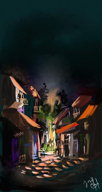 dia e noite | edsilva | Digital Drawing | PENUP