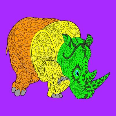 Coloring Digital Drawing | mestermysrisk | PENUP