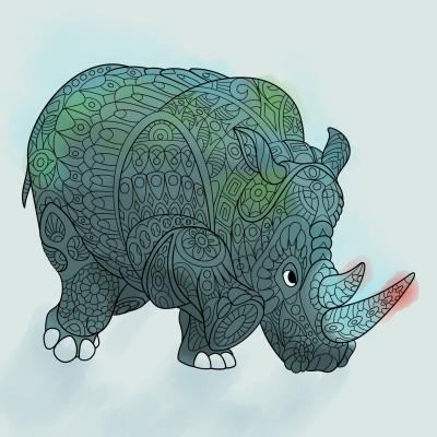 Coloring Digital Drawing | PaulYoo | PENUP