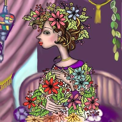 Coloring Digital Drawing   sato   PENUP