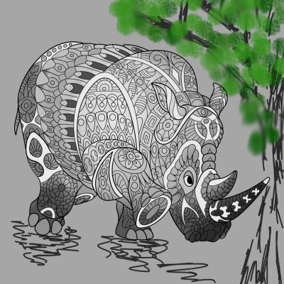 the rino | spnaude | Digital Drawing | PENUP