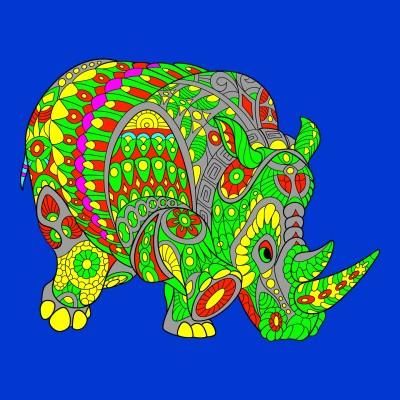 Rhino | matt | Digital Drawing | PENUP