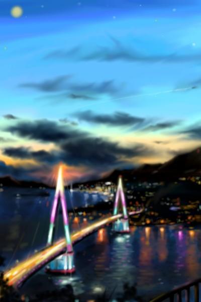 #다시 가고픈 그곳. 여수 | ANEs. | Digital Drawing | PENUP