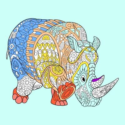 Coloring Digital Drawing | GodsaliveEshun | PENUP