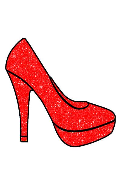 Red  High  Heel  | Gaycouple | Digital Drawing | PENUP