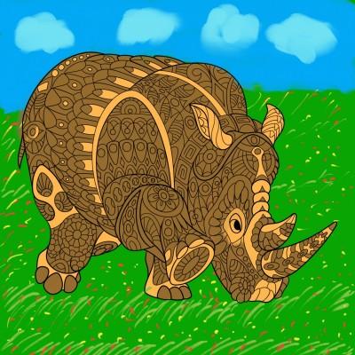 Coloring Digital Drawing | hasan | PENUP