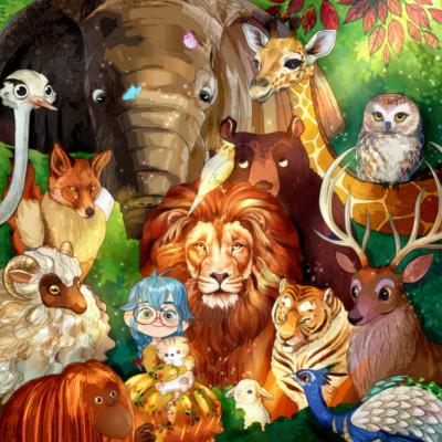 ANIMALS! | Chris | Digital Drawing | PENUP