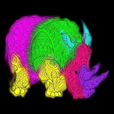 Coloring Digital Drawing | BASSMAEZ | PENUP