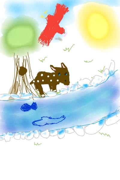 River Scene ;) | Randomwolfgirl | Digital Drawing | PENUP