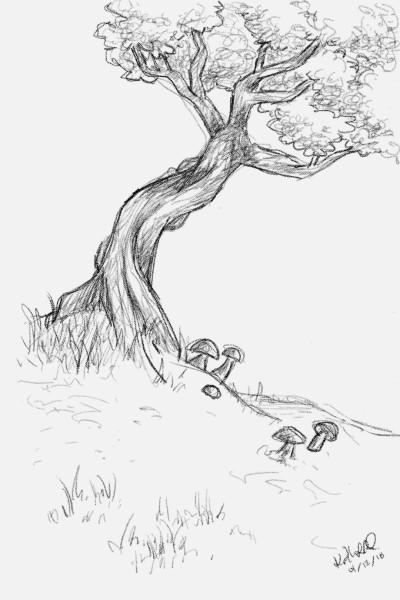 Esther's Oak   occamyKATYE   Digital Drawing   PENUP