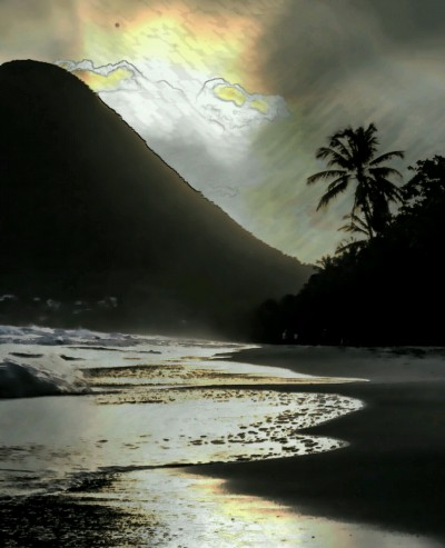 Landscape Digital Drawing | THAISS | PENUP