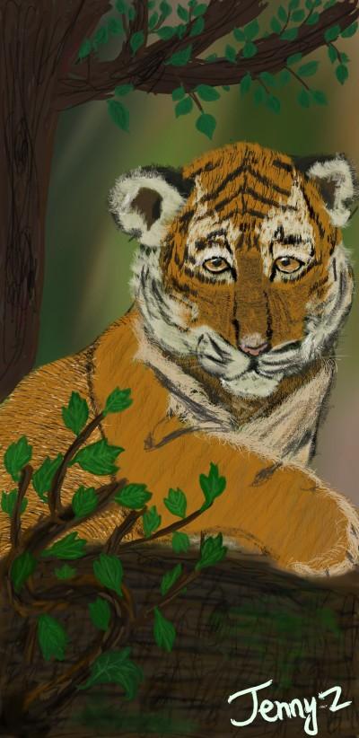 little tiger | jzalkin77 | Digital Drawing | PENUP