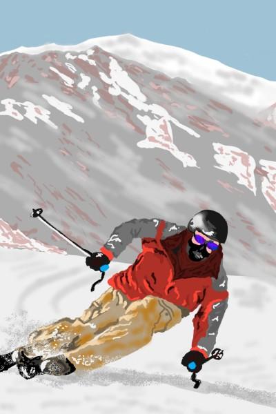 Mont-tremblant, Quebec | AntoineKhanji | Digital Drawing | PENUP