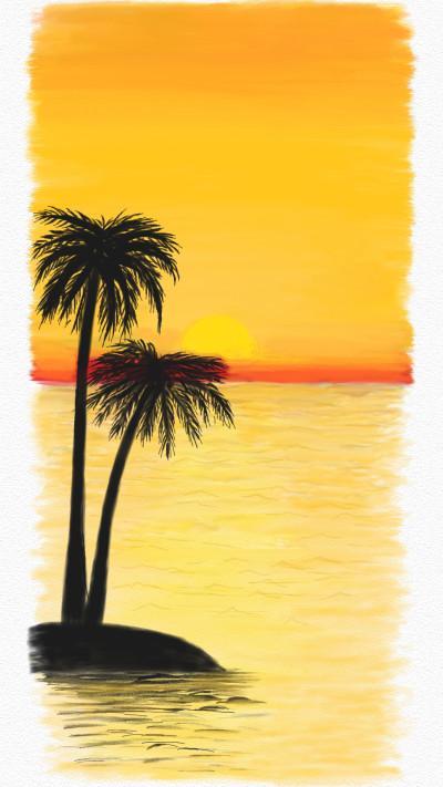 sunset | armin | Digital Drawing | PENUP