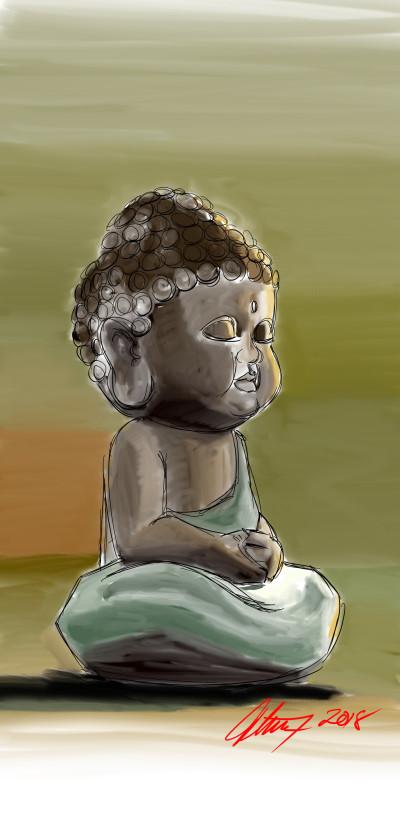 Buddha Statue | vvwj | Digital Drawing | PENUP