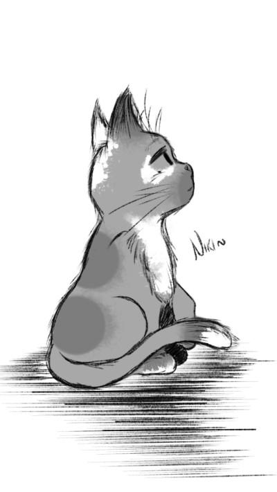 Cat... | -RamblingNaga- | Digital Drawing | PENUP