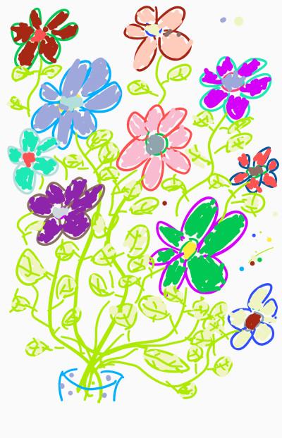 Flowerpot | Sirianan | Digital Drawing | PENUP