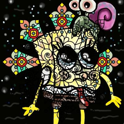 SpongeBob | SummerKaz | Digital Drawing | PENUP