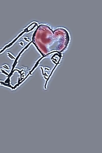 Un coeur au bout des doigts   richard   Digital Drawing   PENUP