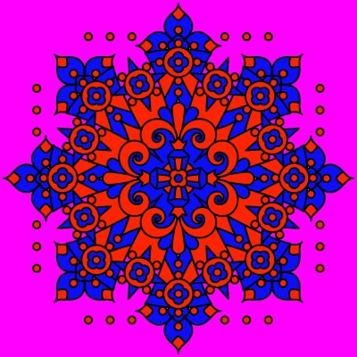 red and blue and pink    shawnsmith   Digital Drawing   PENUP