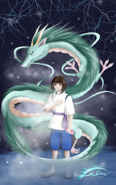 Spirited away in my style lol | i.mary | Digital Drawing | PENUP