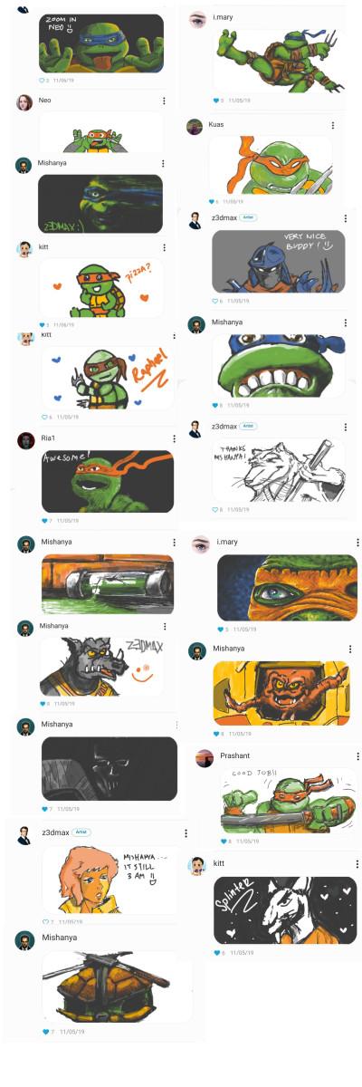 ☆COWABUNGA DUDE☆ | z3dmax | Digital Drawing | PENUP