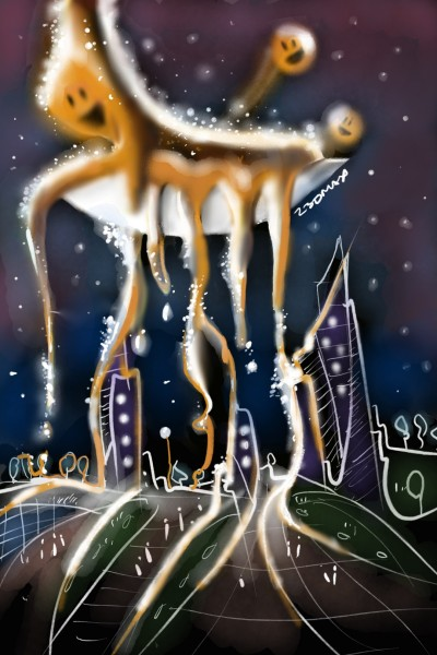 ☆LIQUID ART FROM SPACE☆ | z3dmax | Digital Drawing | PENUP