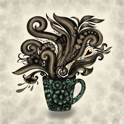 Smell the coffee | JammyC | Digital Drawing | PENUP