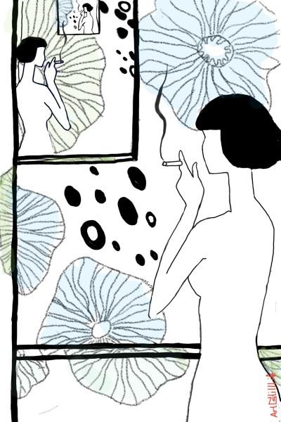 the neighbor... | artNstillLife | Digital Drawing | PENUP