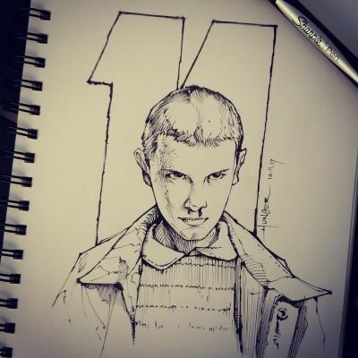 L'Eggo My Eggos! - Eleven | Hunger_art | Digital Drawing | PENUP
