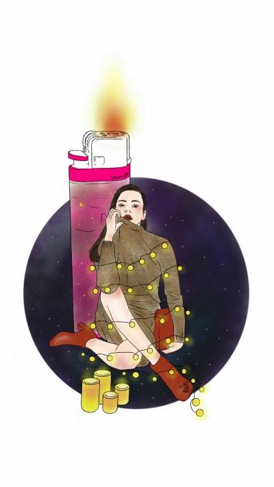 glow   NanNi   Digital Drawing   PENUP