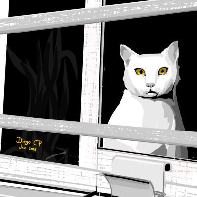 Cat | diegochagas | Digital Drawing | PENUP