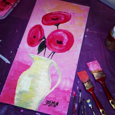 I love fuchia | Jasmine_arts | Digital Drawing | PENUP