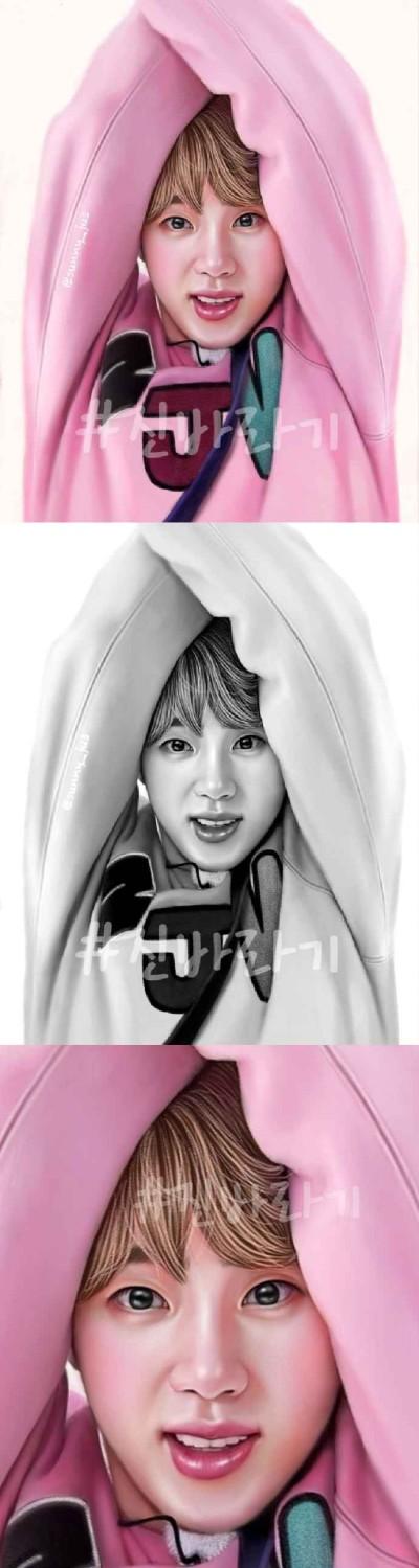 jin♡ | Sunny-jus | Digital Drawing | PENUP