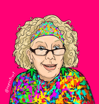 """Granny"" | RodrigoP. | Digital Drawing | PENUP"