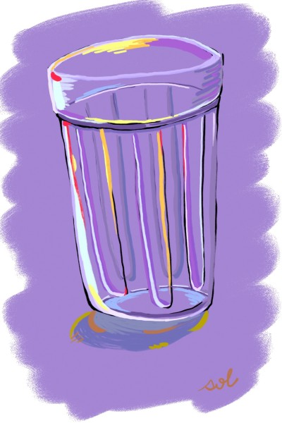 a glass cup | Dal | Digital Drawing | PENUP