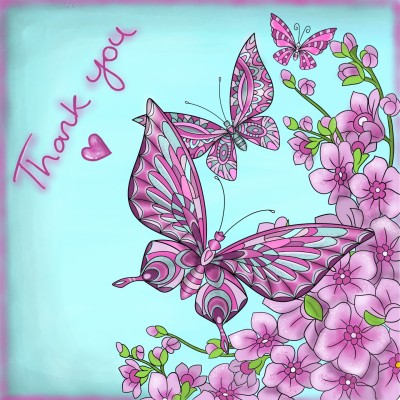 Thank you PenUp friends | Stace | Digital Drawing | PENUP