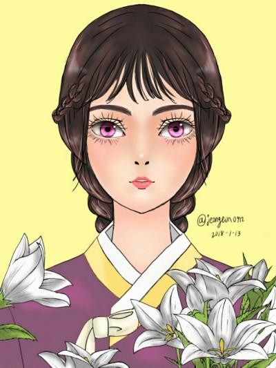 한복 hanbok  | jeongeun0912 | Digital Drawing | PENUP